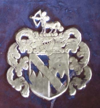 Edward Benlowes's arms.