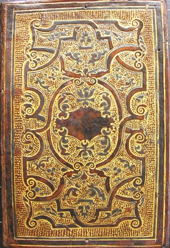 16th-century French gold & black-painted binding.
