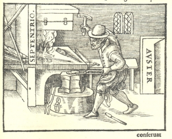Woodcut from De Magnete.