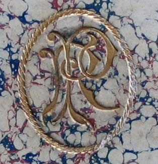 Richard Pendlebury's monogram.
