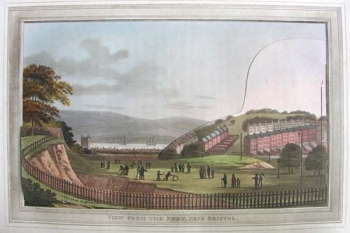 View from the Fort, near Bristol (before).