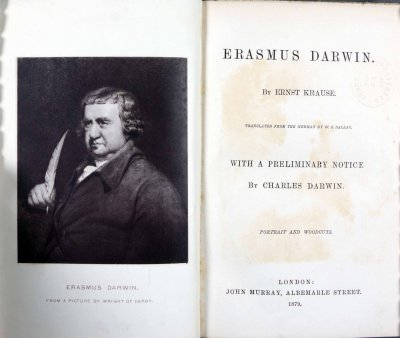 Erasmus Darwin life