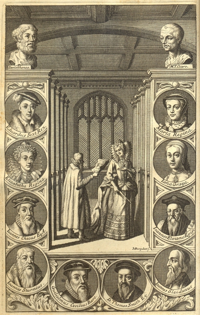"Roger Ascham - taken from the book ""Rogeri Aschami Epistolarum, libri quatuor"""