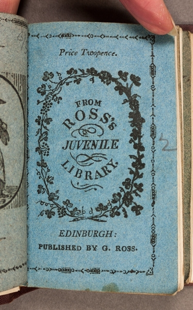 Chapbook from Ross's juvenile library, published in 1814.