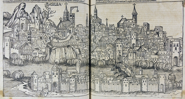 Cityscape of Basilea