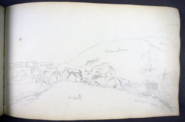 John Lee's sketchbook - pencil drawing