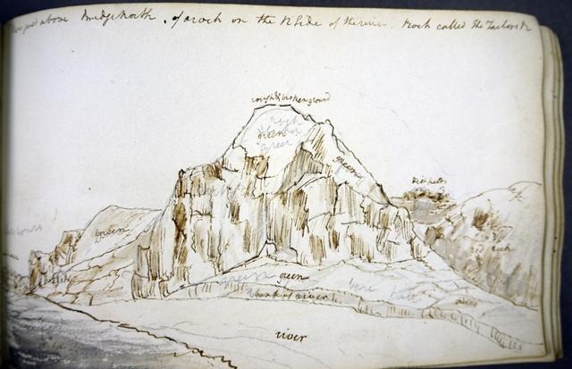 John Lee's sketchbook - pen drawing