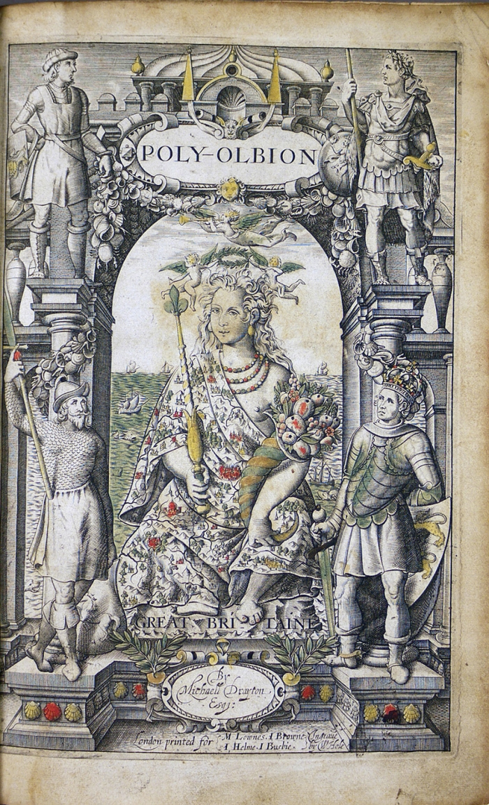Poly-Olbion title page.