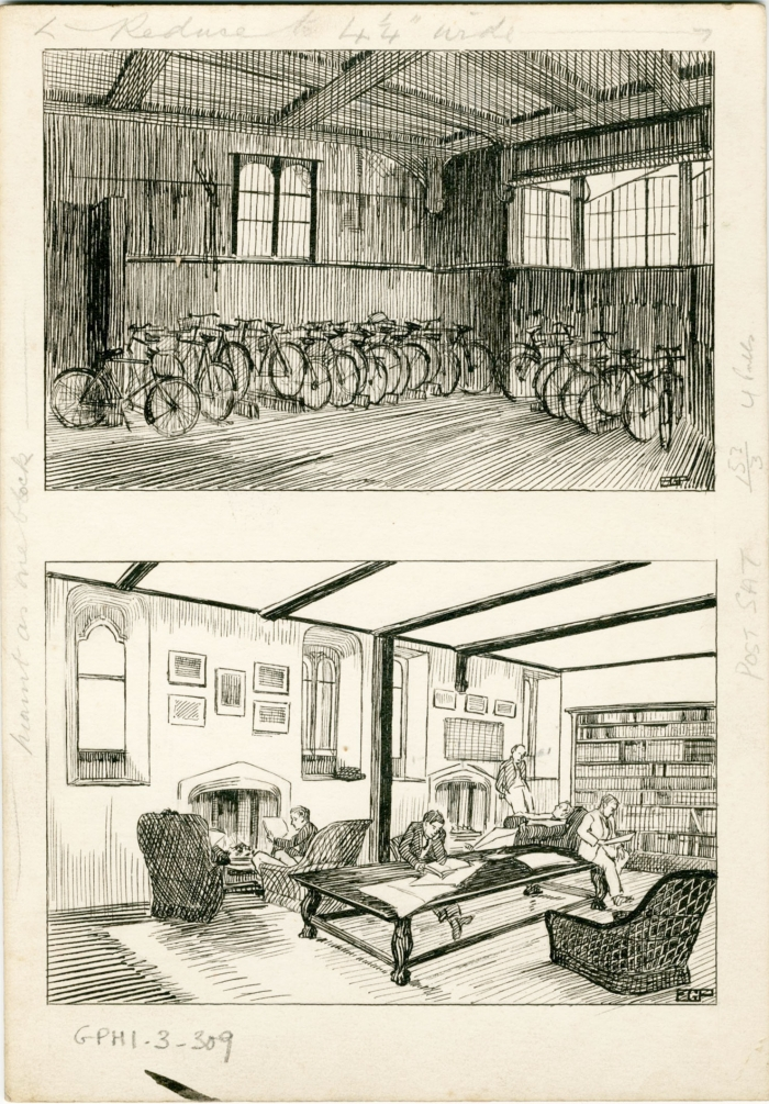Junior Combination Room and Bicycle Store (1931)