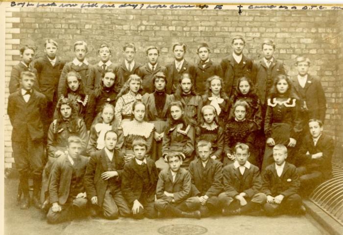 Salford Grammar School, 1902