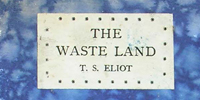Cover of the first edition of T.S. Eliot's poem 'The waste land'