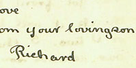1920 letter from Richard Glover to his father (Glover.A.A1.6/2/184)