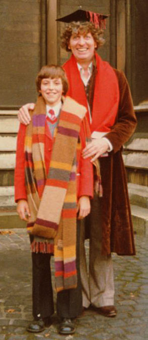 Nick Gedge and Tom Baker, Dr Who (1979)
