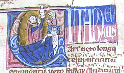 initial U incorporating a physician, a patient and a woman