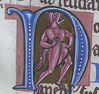 initial N incorporating a demon
