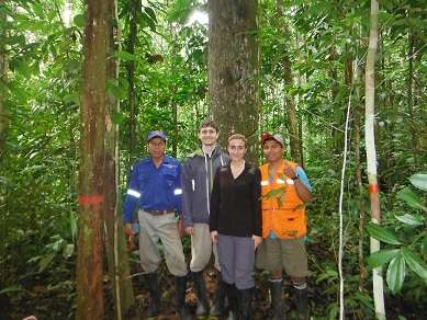 Biological study in the Peruvian Amazon