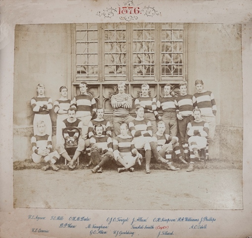 St John's College Rugby Team, 1876