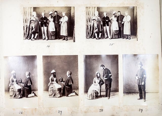 Pictures from the Thespids photograph album 1887