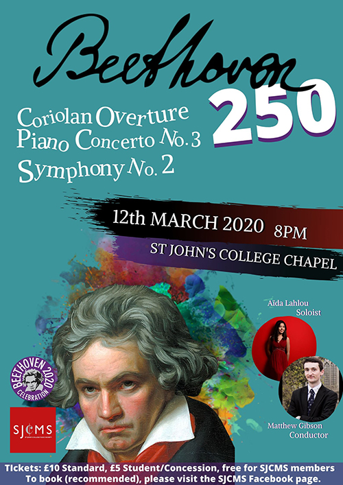 Beethoven 250 poster