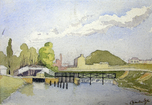 Watercolour by Samuel Butler