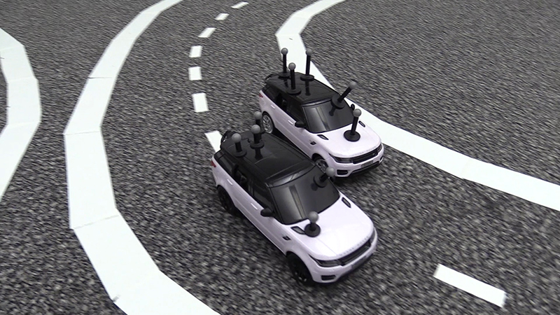 Miniature driverless cars