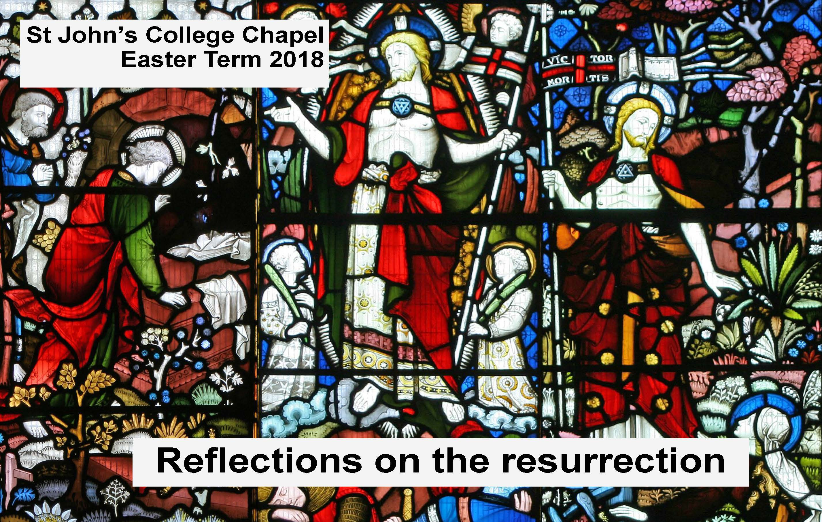 Reflections on the resurrection