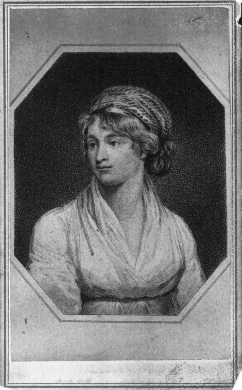 Mary Wollstonecraft engraving