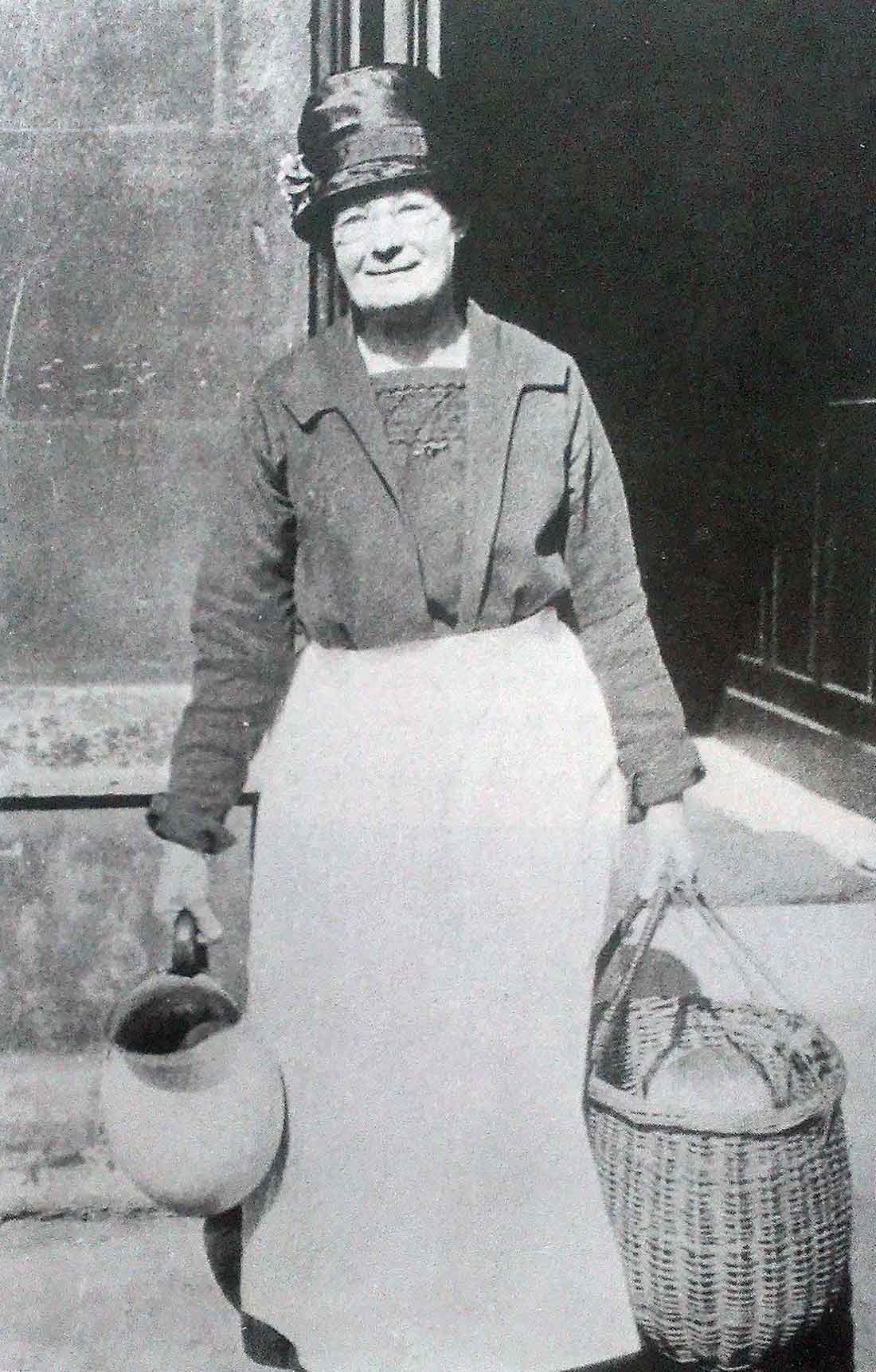 A member of Housekeeping staff in the 1920s