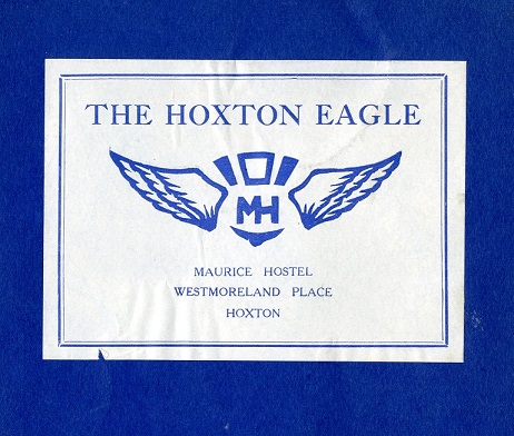 Hoxton Eagle, the Mission's magazine
