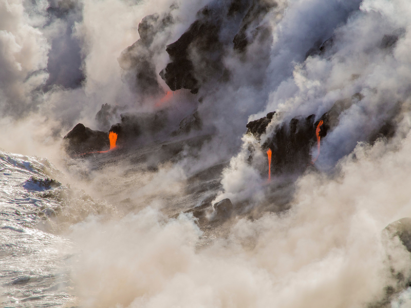 Volcanic gases