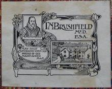 Brushfield's bookplate